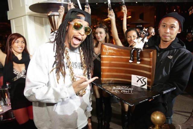 decoracion de pasteles Lil Jon cumpleaños