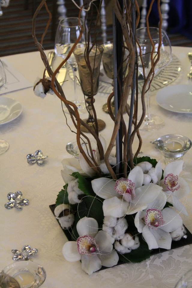 decoración temática orquídeas preciosas