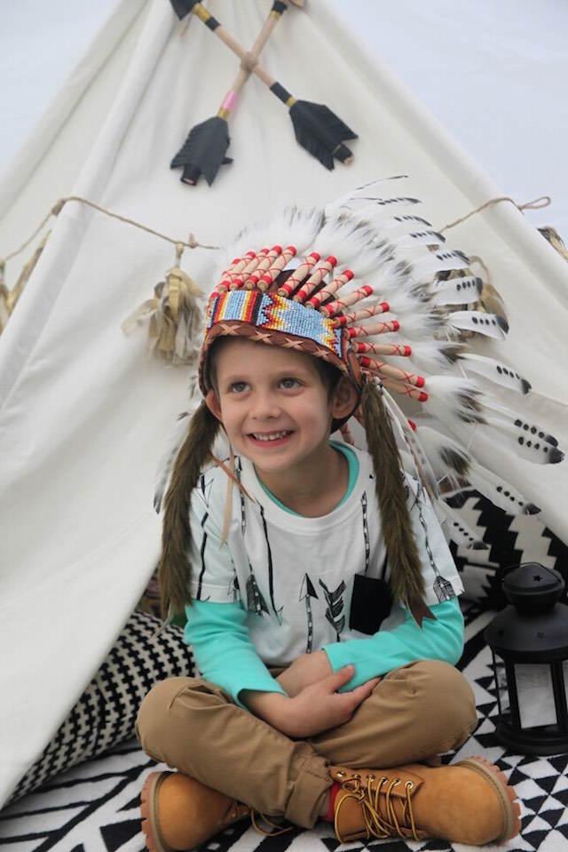 disfraces para niños evento temático aztecas