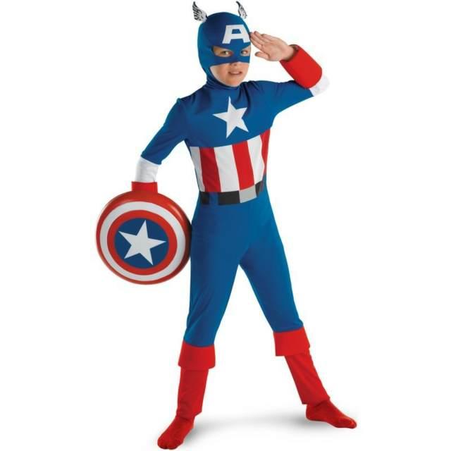 disfraz capitán américa niño ideas divertidas