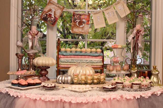 decoración recuerdos para bautizo cuentos de hadas