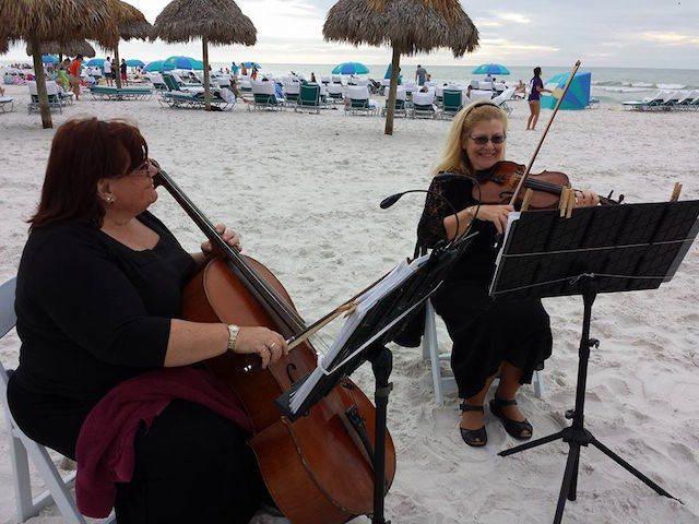 experiencia fantástica boda playa musica