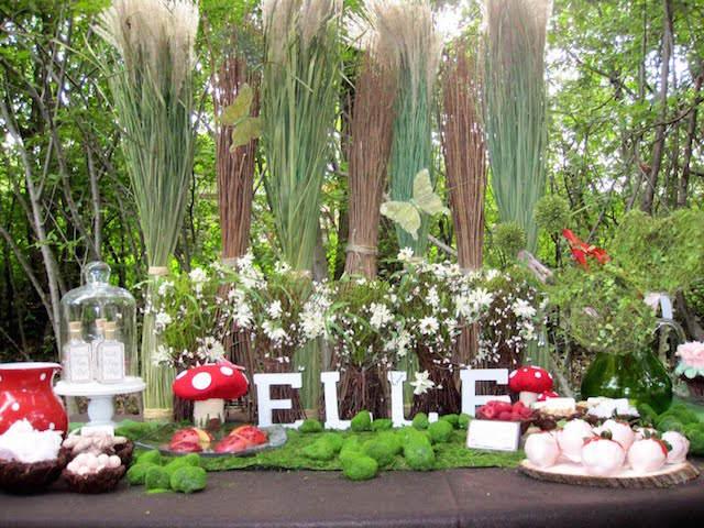 decoración recuerdos para bautizo tema elfo