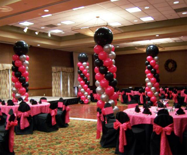 fiesta arreglos con globos fiestas inolvidables