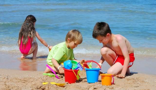 fiestas infantiles playa mar juegos originales verano