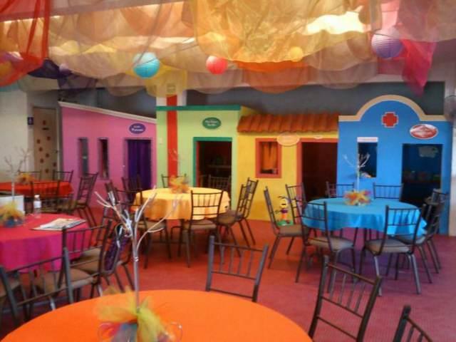 fiestas infantiles salones temáticos decoración original