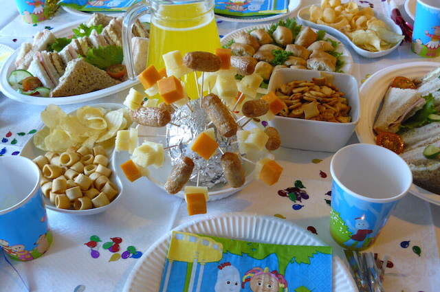 ideas preciosas banquetes fiestas infantiles