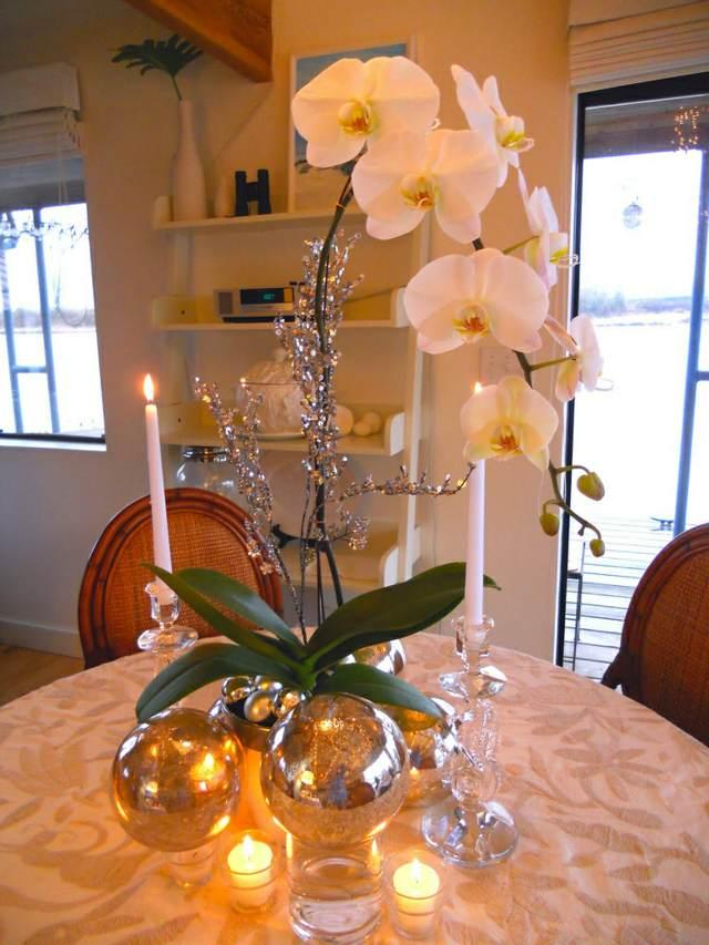 ideas preciosas centros de mesa orquídeas decoración