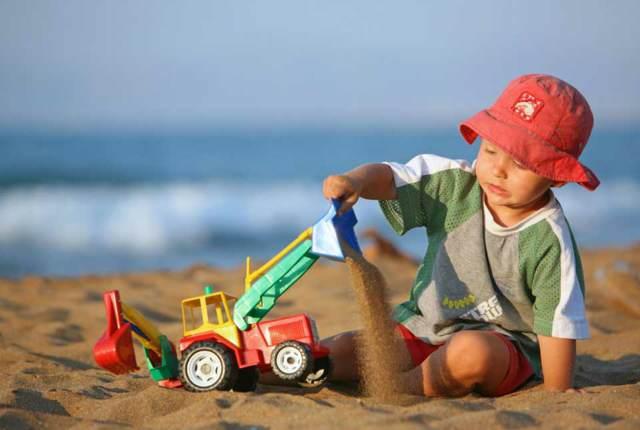 juegos infantiles mar playa fiesta inolvidable