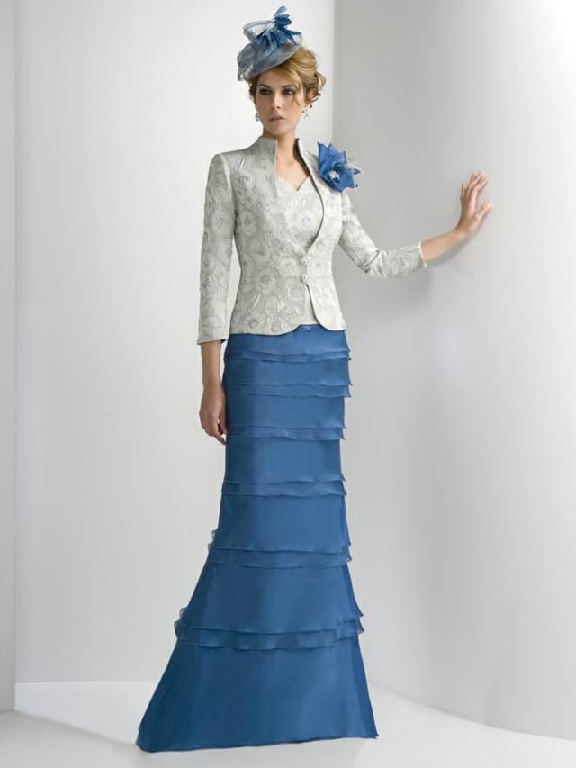 modelo único vestido madrina bautizo memorable