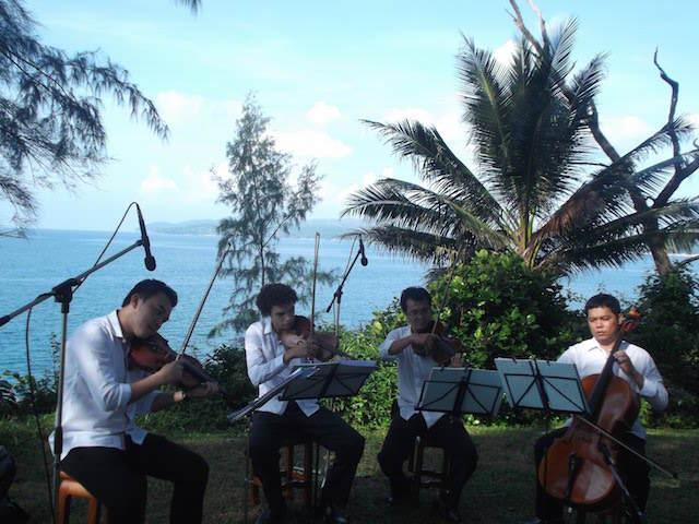 música clásica profesional bodas en la playa