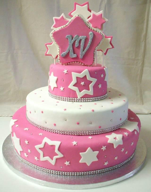 pastel temático fiesta cumpleaños 15 años ideas fantásticas