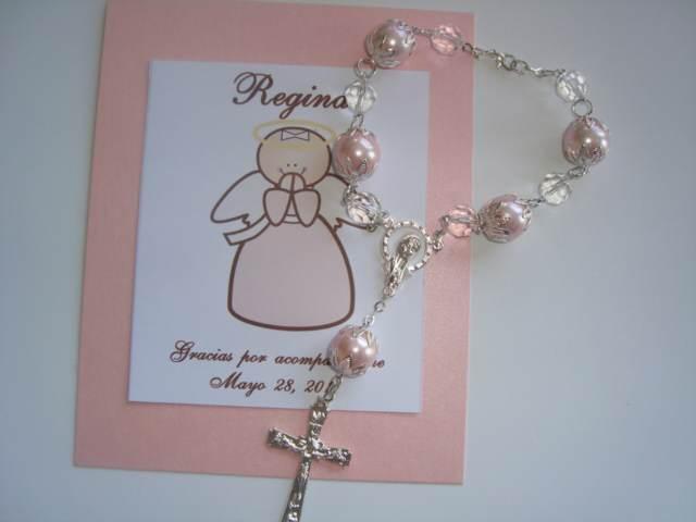 recuerdo decenario de perlas bautizo inolvidable ideas
