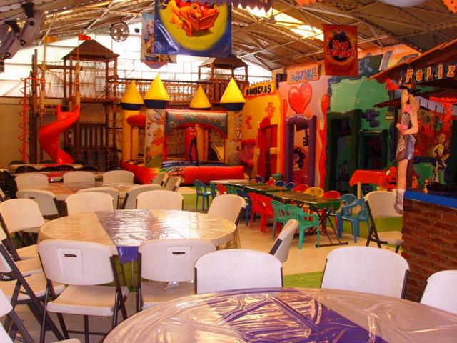 salones de fiestas infantiles ideas originales decoración juegos