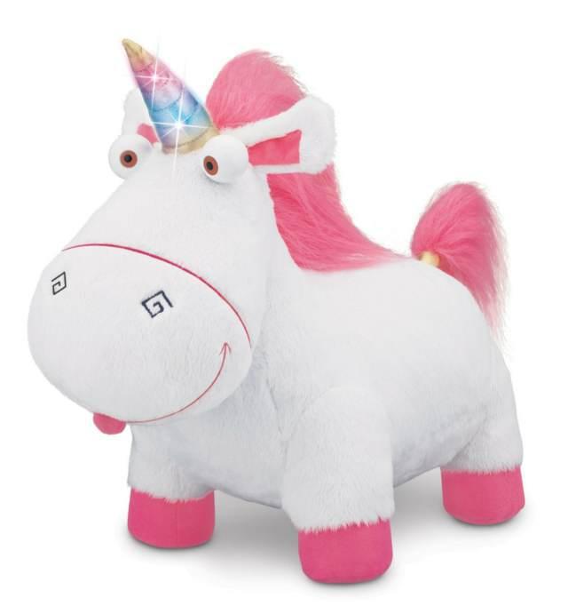 unicornio de peluche recuerdos bautizo temático ideas