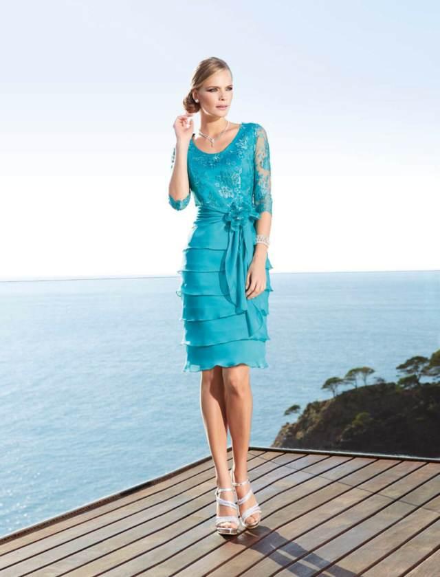 vestidos-de-madrina-azul-bautizo-ideas-preciosas