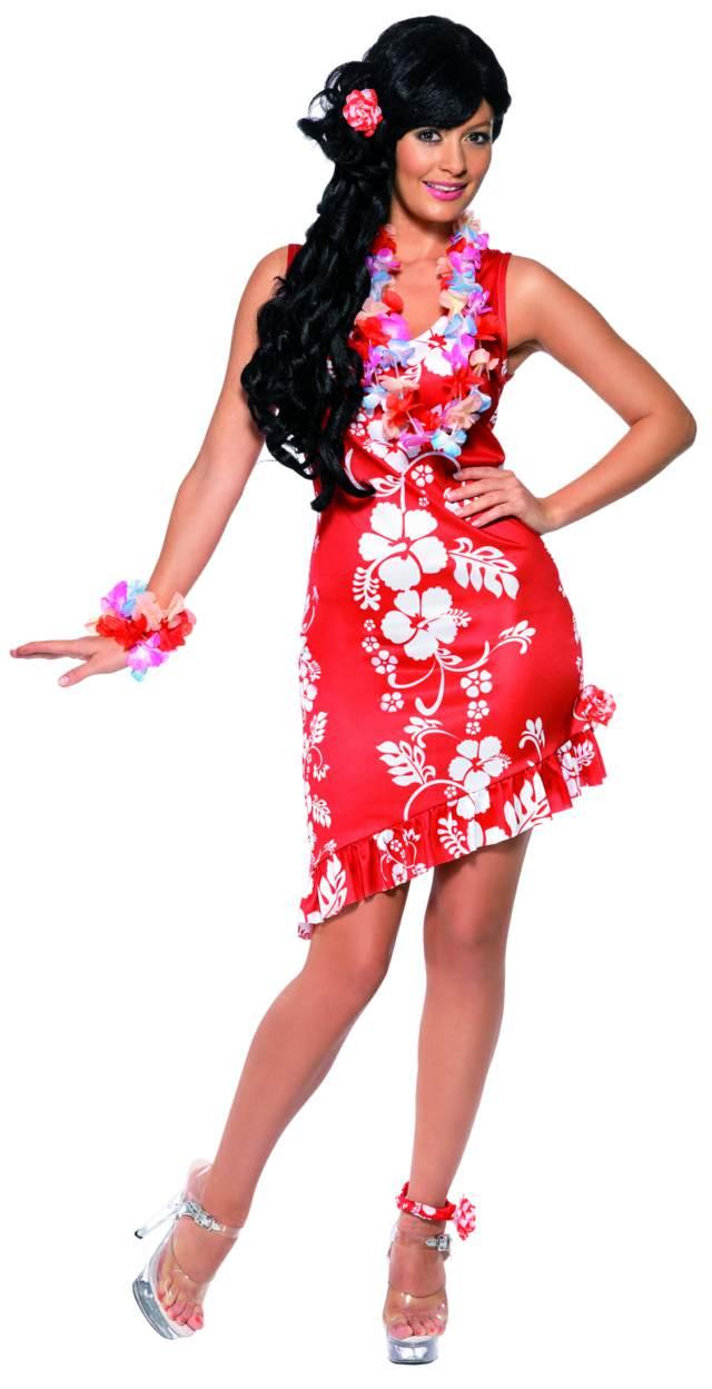 vestidos de madrina temáticos ideas hawaianas