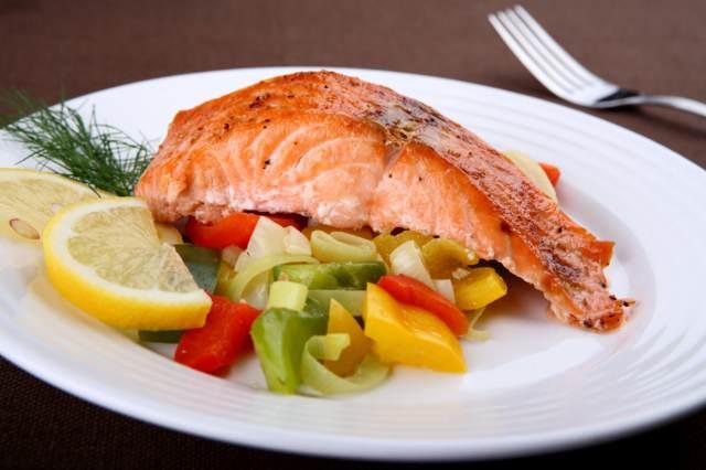 alimentación sana pescado salmón recetas saludables