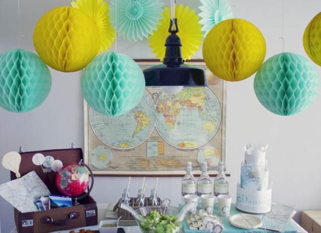 baby shower decoración preciosa ideas