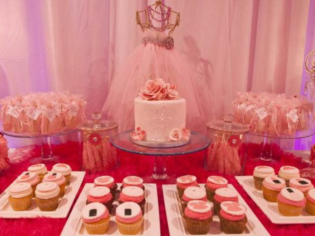 baby shower ideas decoración original color rosa