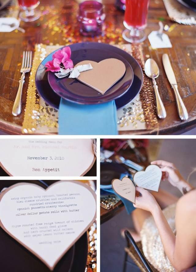 boda fabulosa menú ideas fantásticas únicas