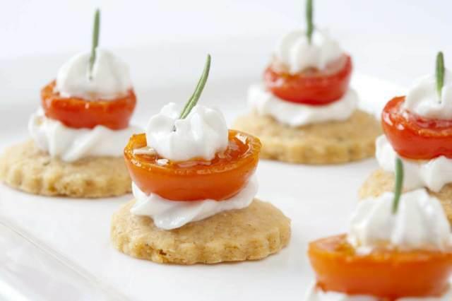 canapés sabrosos fiesta temática boda original menú sano