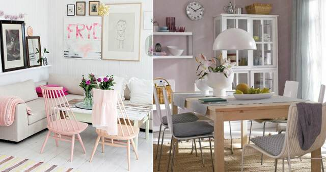 colores pastel decoración hogar ideas modernas 2015