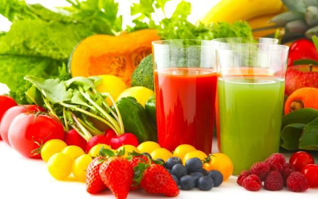 comida sana verduras frutas frescas ensaladas