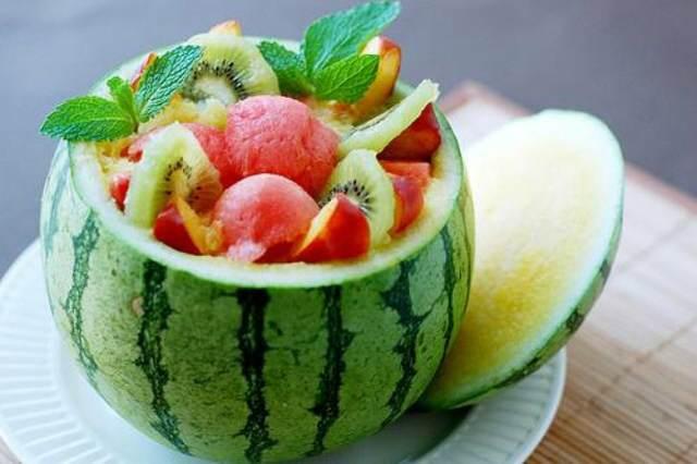 comidas sanas ensalada frutas diferentes ideas fantásticas