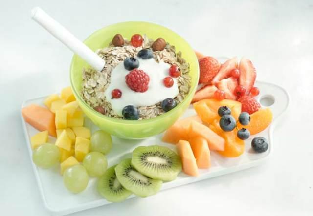 comidas sanas fiestas infantiles menú saludable ideas