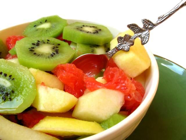 comidas sanas fruta frescas ensalada ideas sabrosas