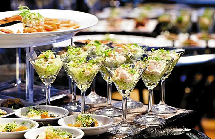 comidas sanas menú fantástico ideas boda