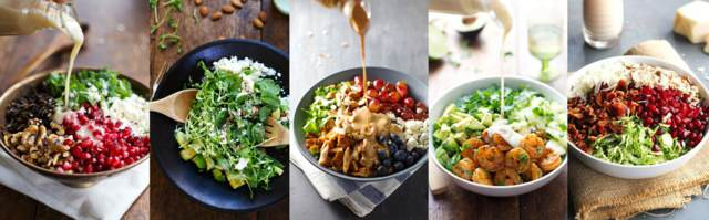comidas sanas recetas deliciosas menú saludable fiesta original