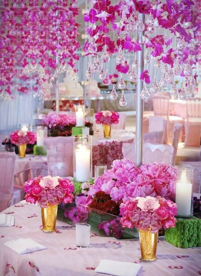 Flores Hermosas Para La Decoracion De Tu Fiesta