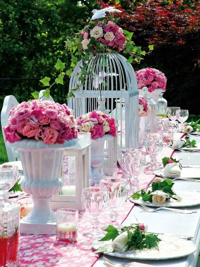 decoración flores hermosas ideas temáticas fiesta inolvidable