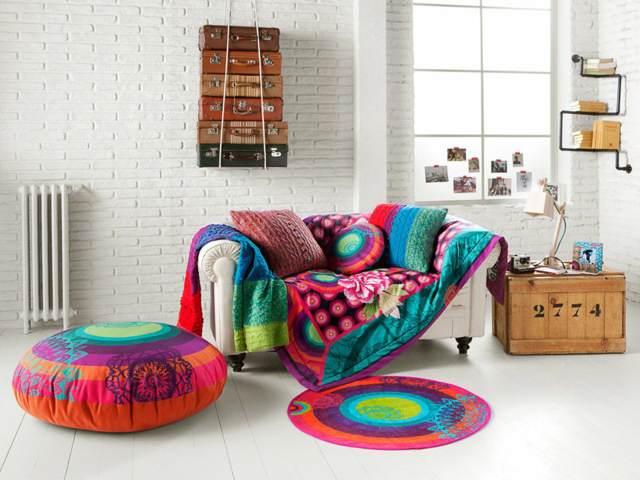 decoraci n para el hogar ideas para verano colorido ForDecoracion Hogar Original
