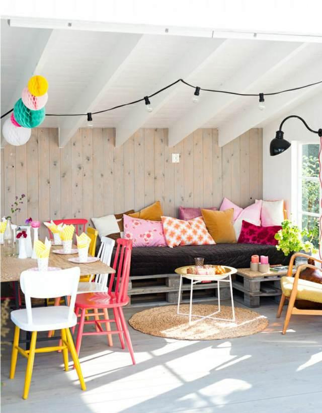 decoración para el hogar terraza jardín ideas