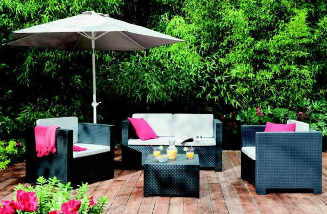 decoración original jardín verano ideas maravillosas