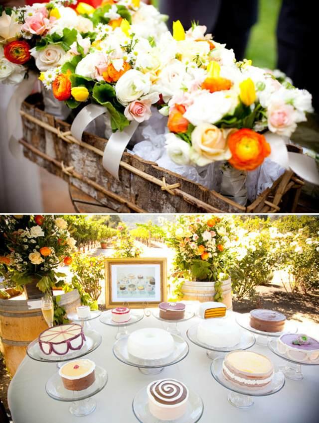 decoración maravillosa fiesta preciosa arreglos florales