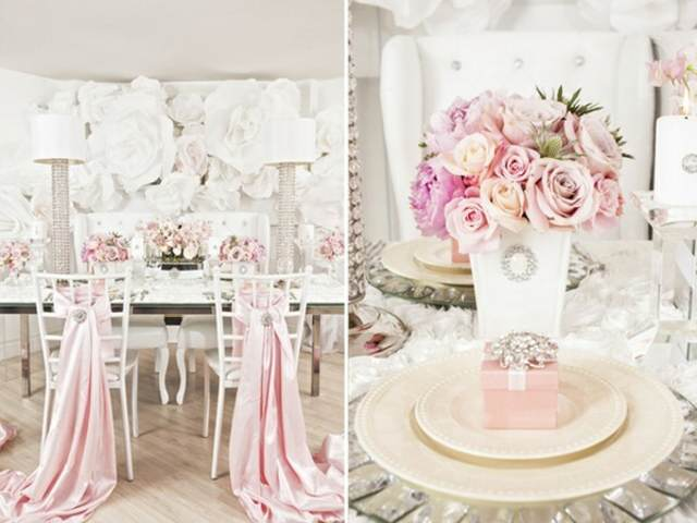 decoración moderna boda fabulosa fiesta inolvidable