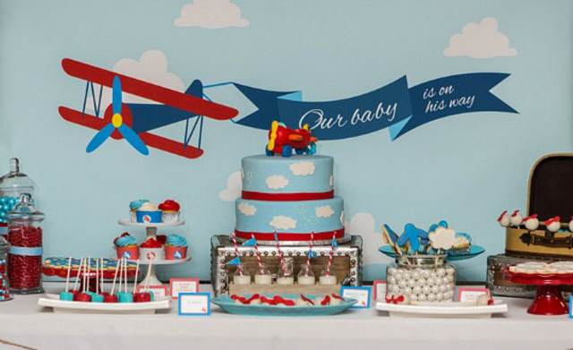 ideas decoración para baby shower fiesta otoño