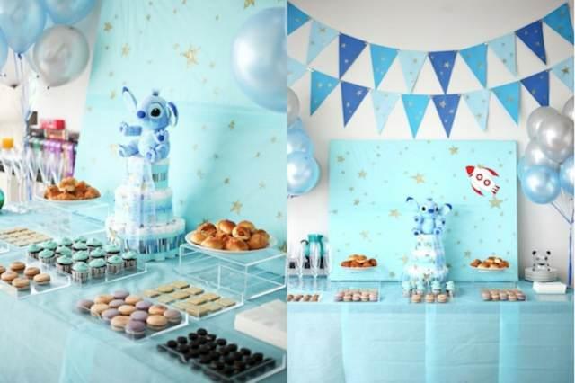 Baby Shower Decoracion Para Niño ~ Baby shower decoracion elegant baby shower with baby shower
