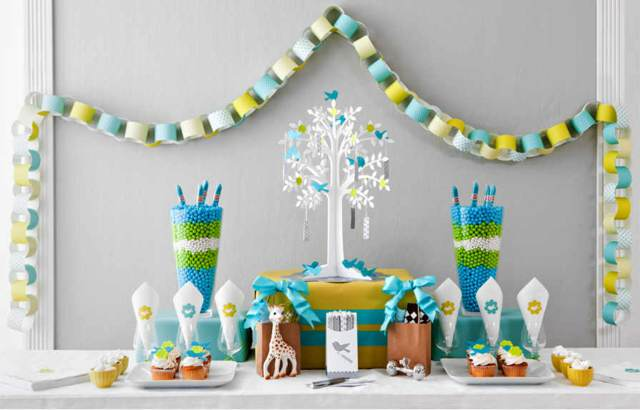 Decoracion Para Fiesta De Baby Shower.Decoracion Para Baby Shower Fiesta Inolvidable