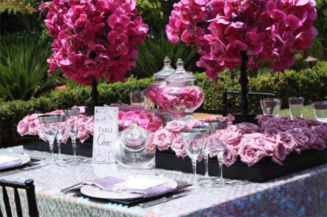 fiesta cumpleaños memorable decoración preciosa flores