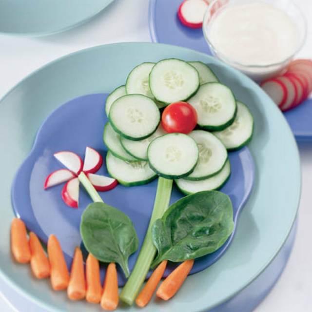 fiestas infantiles menú saludable decoración maravillosa ideas