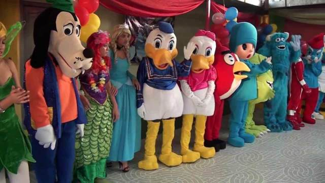 fiestas infantiles juegos divertidos animadores disfraces originales