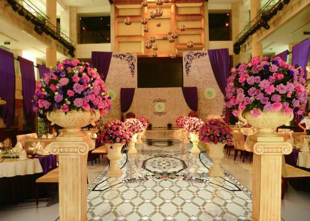 flores hermosas decoración entera fiesta cumpleaños ideas