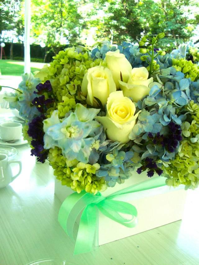 flores hermosas fiesta temática jardín decoración fantástica