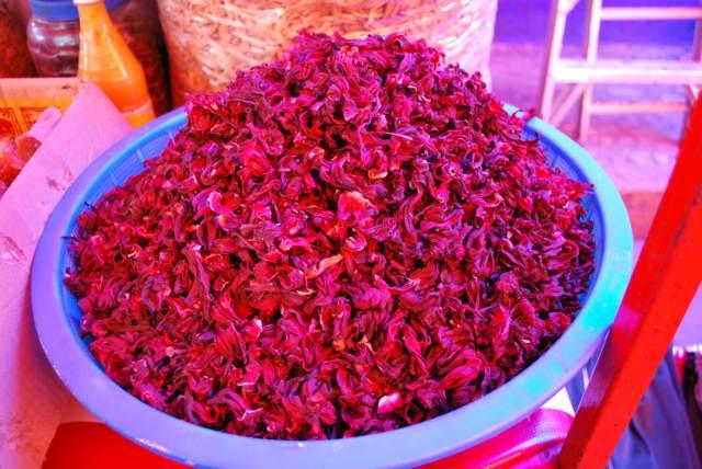 información útil flor de Jamaica té saludable