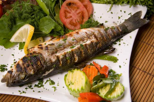 pescado menú sano recetas deliciosas fiesta